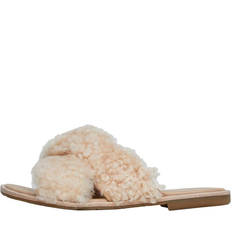32363efebef UGG Joni Slide Sandals Soft Orange in Natural - Lyst