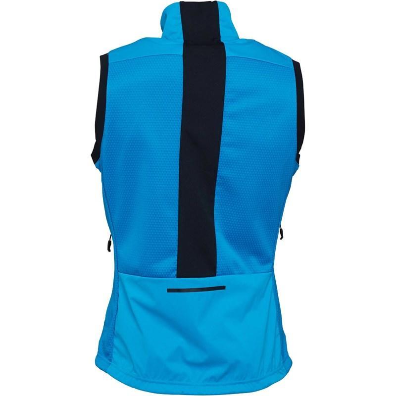 super popular 1611e 65deb Adidas - Blue Xperior Running Vest Bold Aqua black for Men - Lyst. View  fullscreen