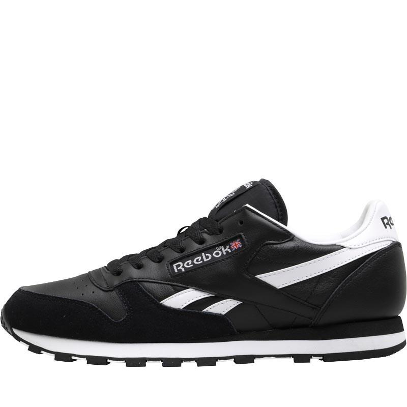 4eb21108e Reebok Classic Leather Trc Trainers Black/white/light Solid Grey in ...