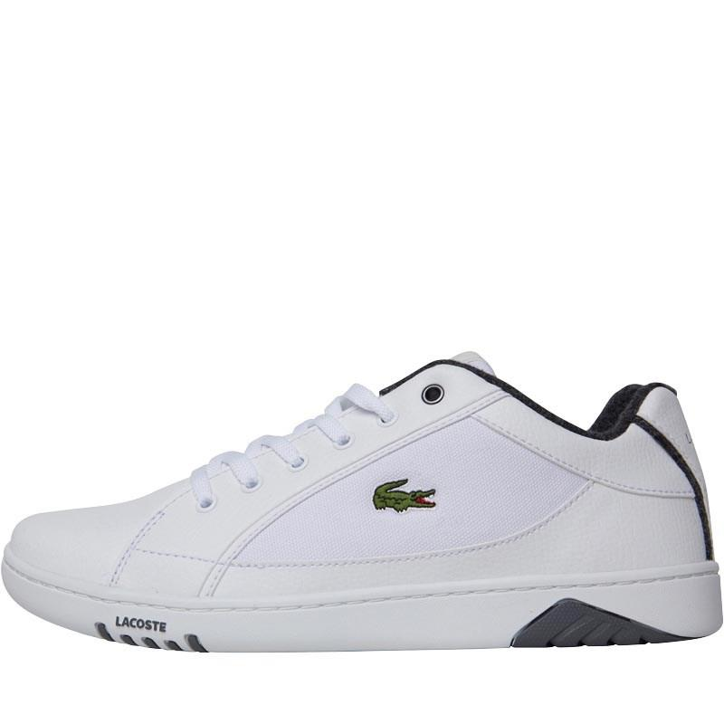 4282ac3a26b0 Lacoste - Deviation Spm Trainers White dark Grey for Men - Lyst. View  fullscreen
