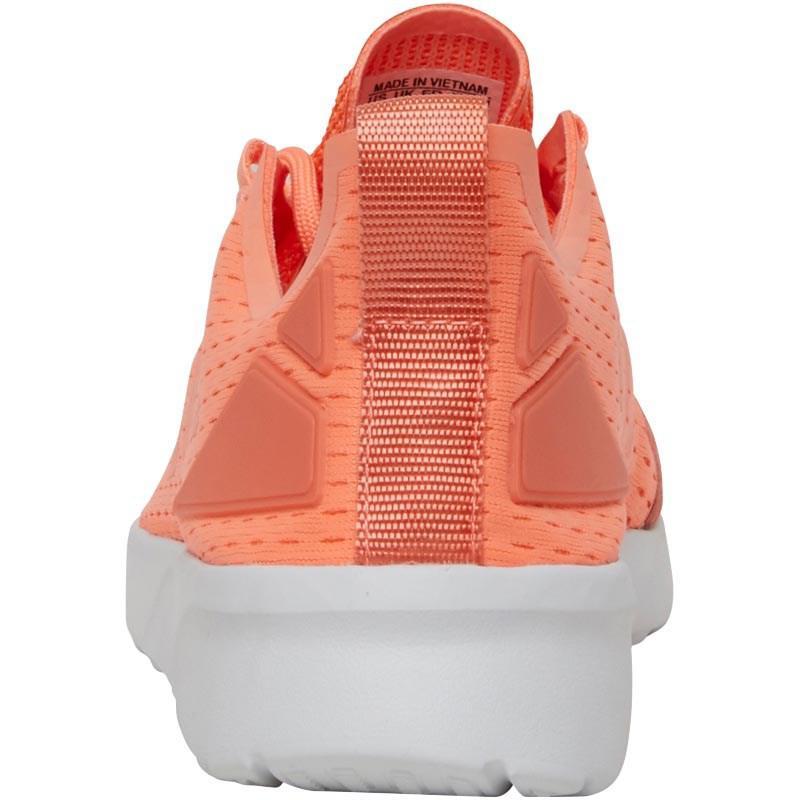 1b8fe310a adidas Originals Zx Flux Adv Verve Trainers Sun Glow sun Glow orange ...