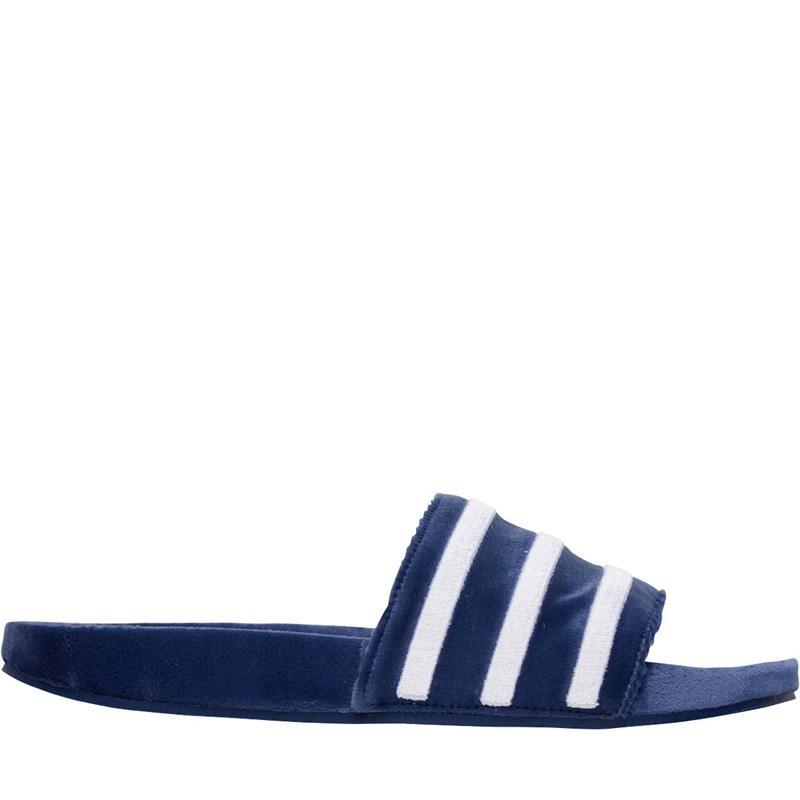 c10cb2e95c4d3 Adidas Originals - Adilette Slide Sandals Mystery Blue footwear White footwear  White for Men. View fullscreen