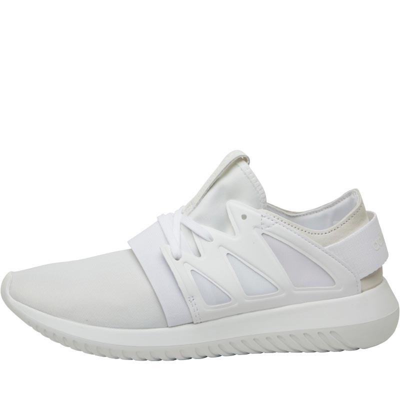 reputable site 59c3d 2ddc1 adidas Originals. Women s Tubular Viral Trainers White white white