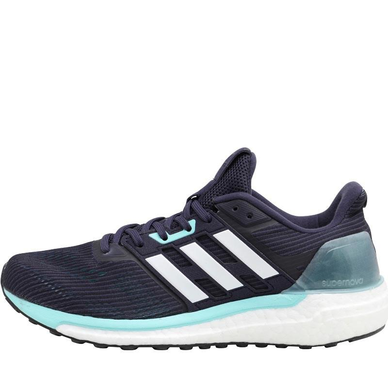023f4c960643d adidas Supernova Neutral Running Shoes Noble Ink white energy Aqua ...