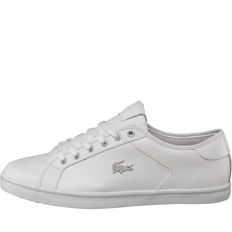 ade4e47e5b9bb Lacoste Tabor 2.0 Matte Trainers White grey in White for Men - Lyst
