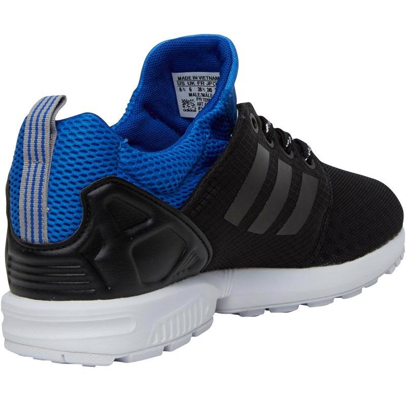 31c1922f2 Adidas Originals Zx Flux Nps Updated Trainers Core Black core Black ...