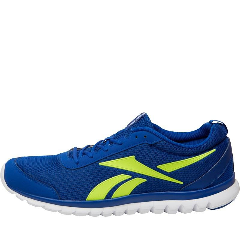 0649012e0efb1 Reebok Sublite Sport Running Shoes Collegiate Royal solar Yellow ...