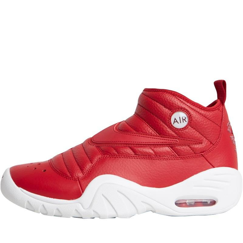 newest 31bca 0b536 Nike Air Shake Ndestrukt Gym Red summit White port in Red for Men - Lyst