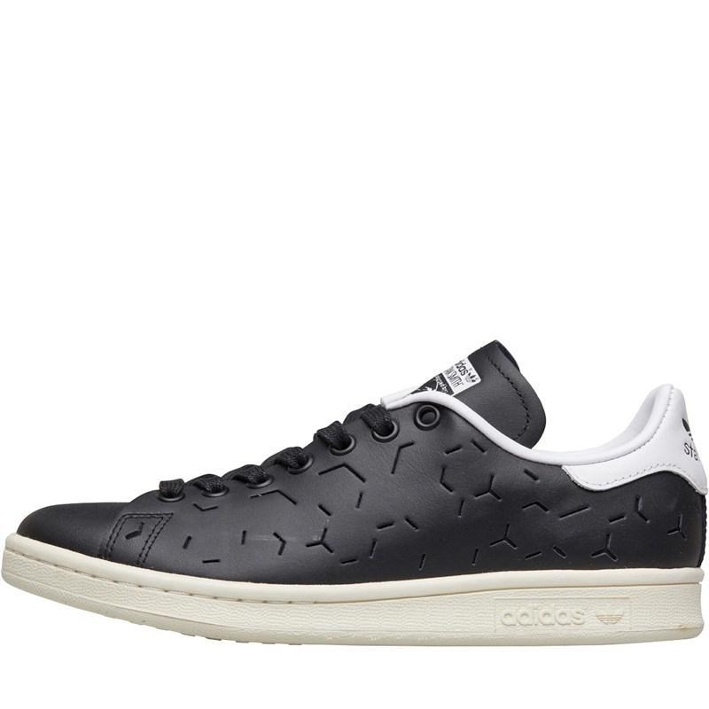 3f93a43b999 adidas Originals. Women s Stan Smith Trainers Core Black core Black footwear  White