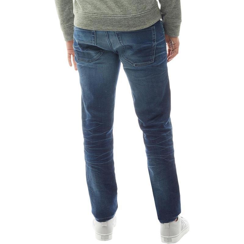 aef4b0530db12 Jack   Jones Tim Original Jj997 Slim Fit Jeans Blue Denim in Blue ...