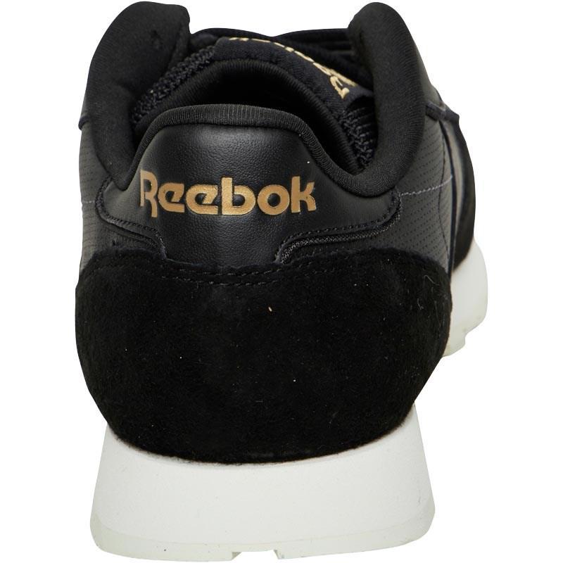 001fc7bb844 Reebok Classic Leather Alr Trainers Black chalk ash Grey in Black ...