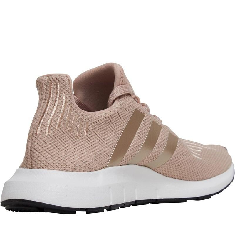 6954d891e adidas Originals Swift Run Trainers Dust Pearl copper Metallic ...
