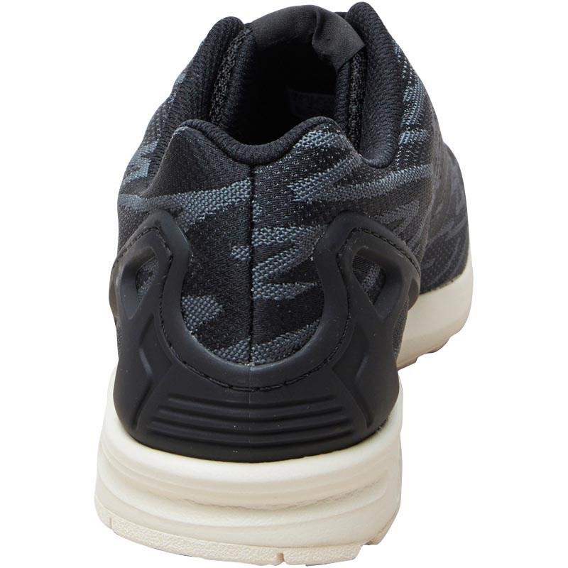 1b7739dc894 adidas Originals Zx Flux Weave Trainers Core Black light Onix white ...