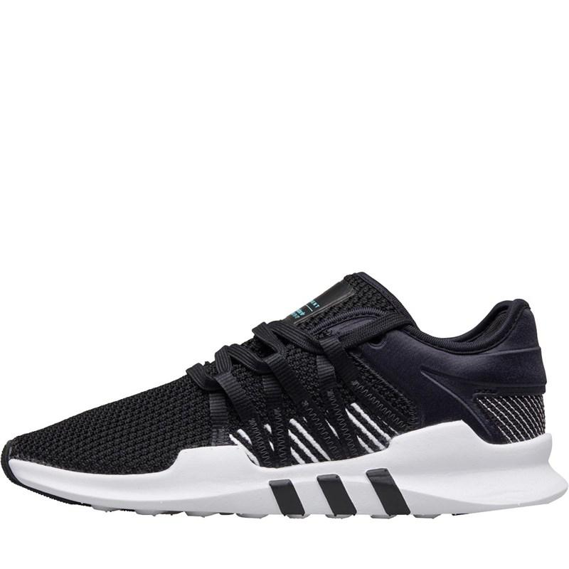 quality design 50b69 ed003 adidas Originals. Womens Eqt Adv Racing Trainers Core Blackcore Black footwear White