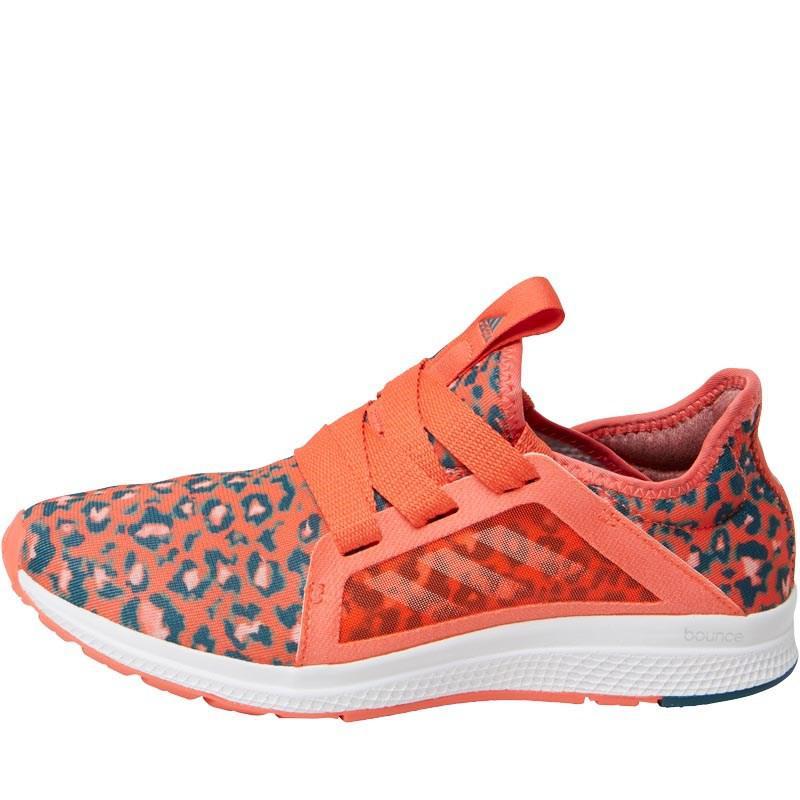 adidas edge lux neutrale le scarpe da corsa semplice coral / haze coral / mistero