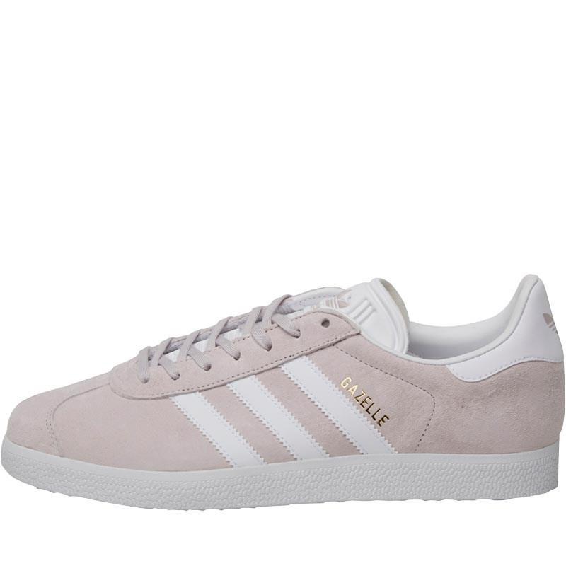 Adidas Gazelle Brand Shoes Ice Purple/White/Gold New York Metallic BB5482
