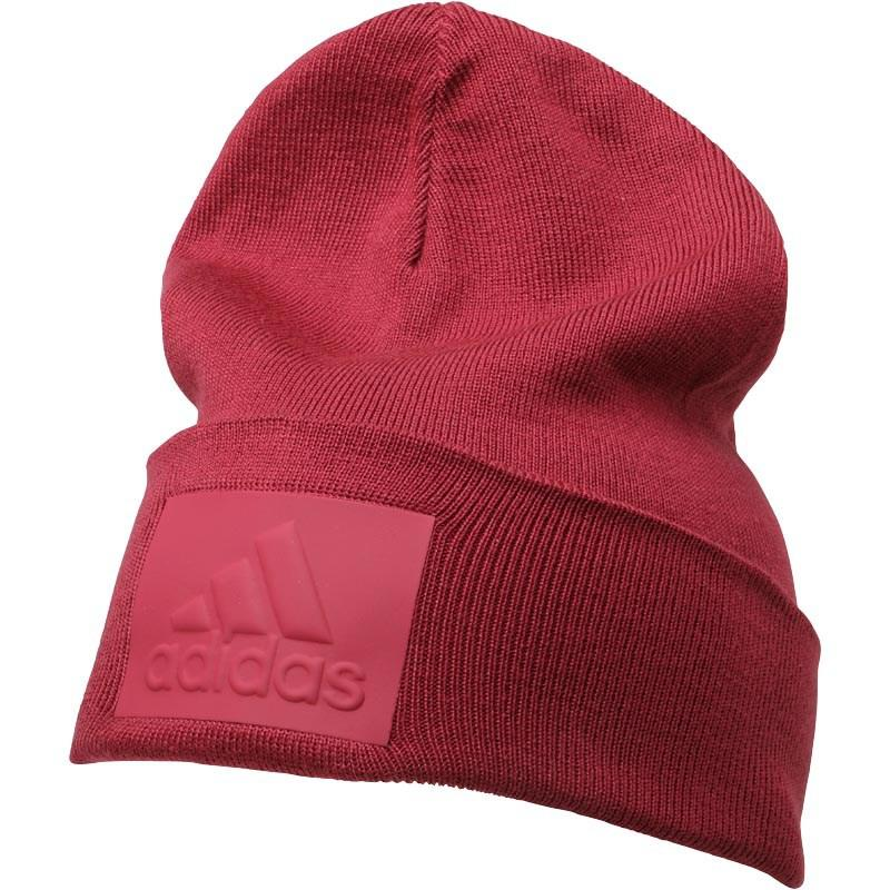 a2a92a124d9 adidas Z.n.e. Badge Of Sport Beanie Mystery Ruby in Red for Men - Lyst