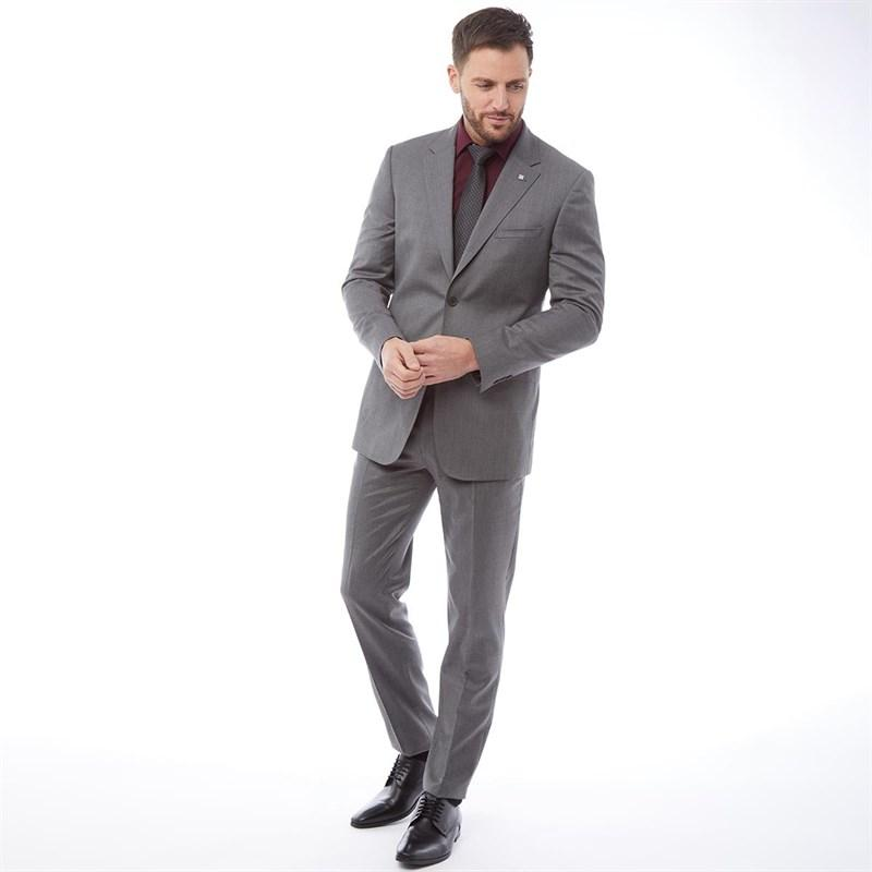 fa88a5a0427c Ted Baker Decadent Debonair Plain Suit Grey in Gray for Men - Lyst