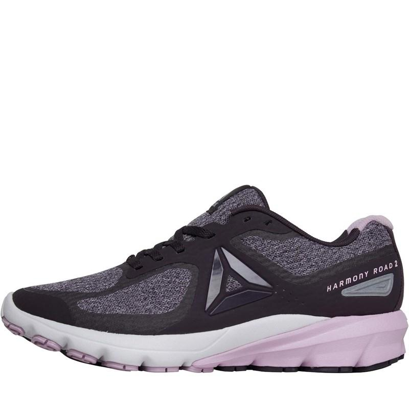 8c995abb5c11 Reebok. Women s Purple Harmony Road 2 Neutral Running Shoes Smoky  Volcano moonglow white cloud Grey