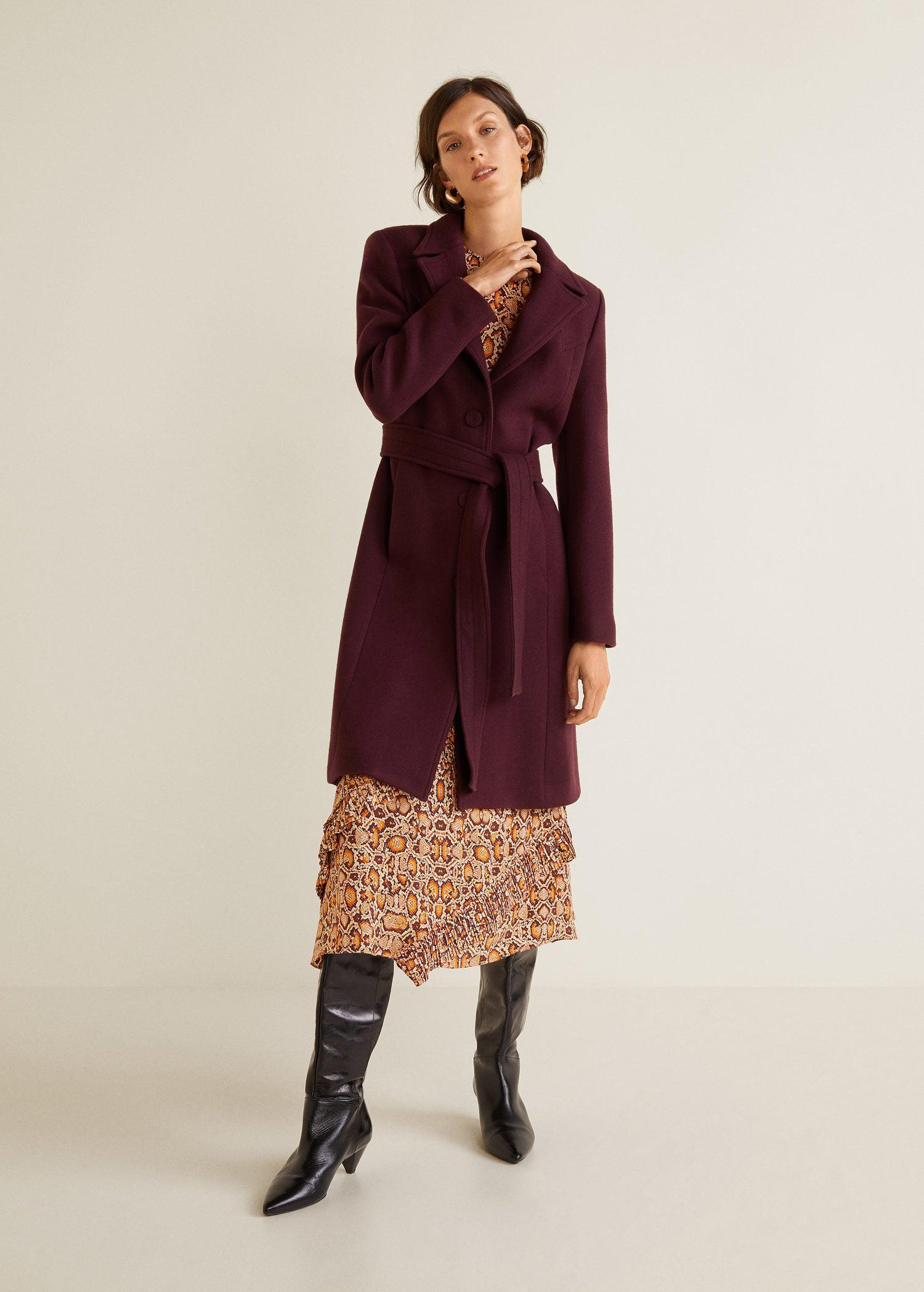 Mango - Structured Wool Coat - Lyst. View fullscreen ef51a72d9