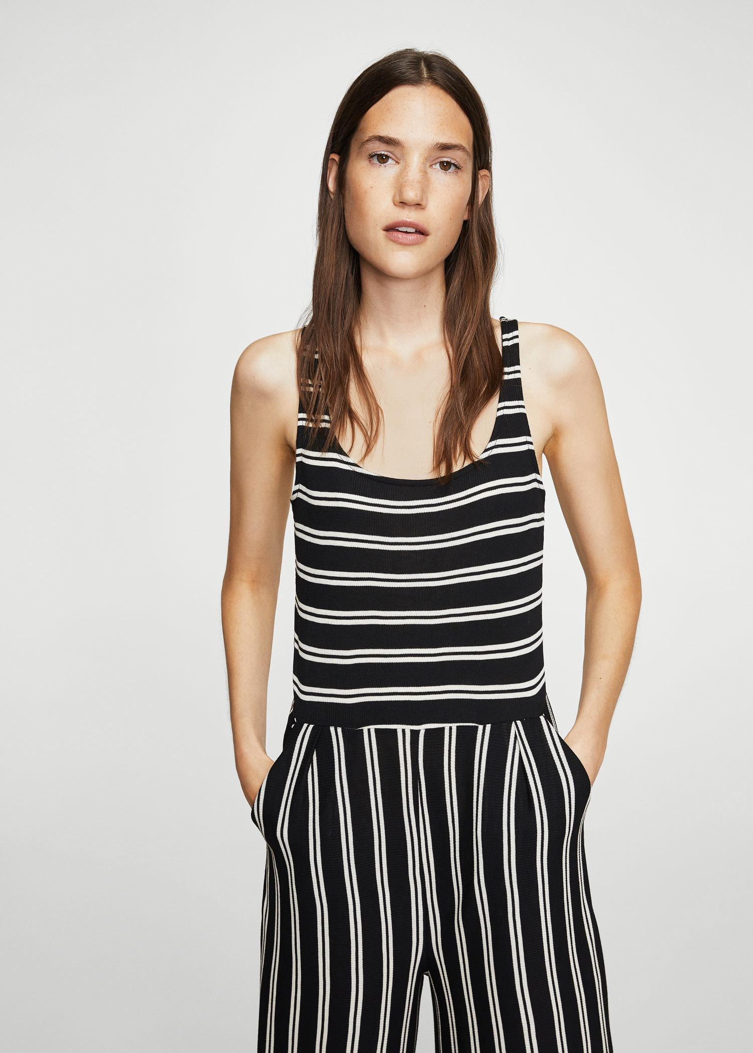 5e17ab34b673 Gallery. Previously sold at  Mango · Women s Overall Shorts Women s Striped  Jumpsuits ...