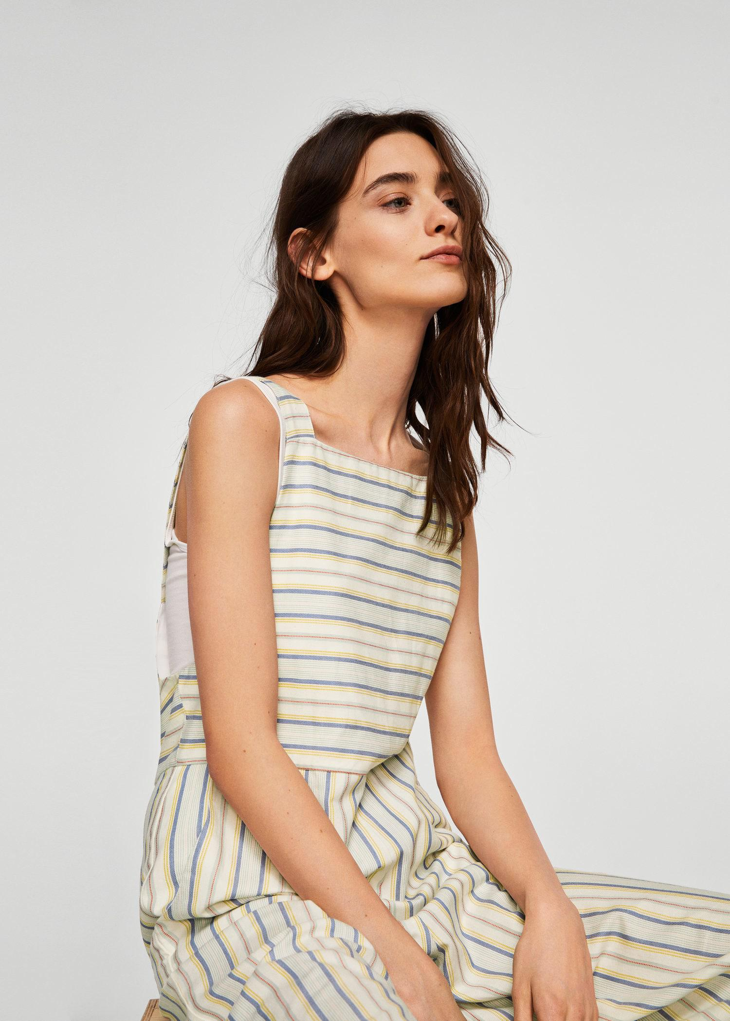 d79215f06ad Gallery. Previously sold at  Mango · Women s Striped Jumpsuits ...