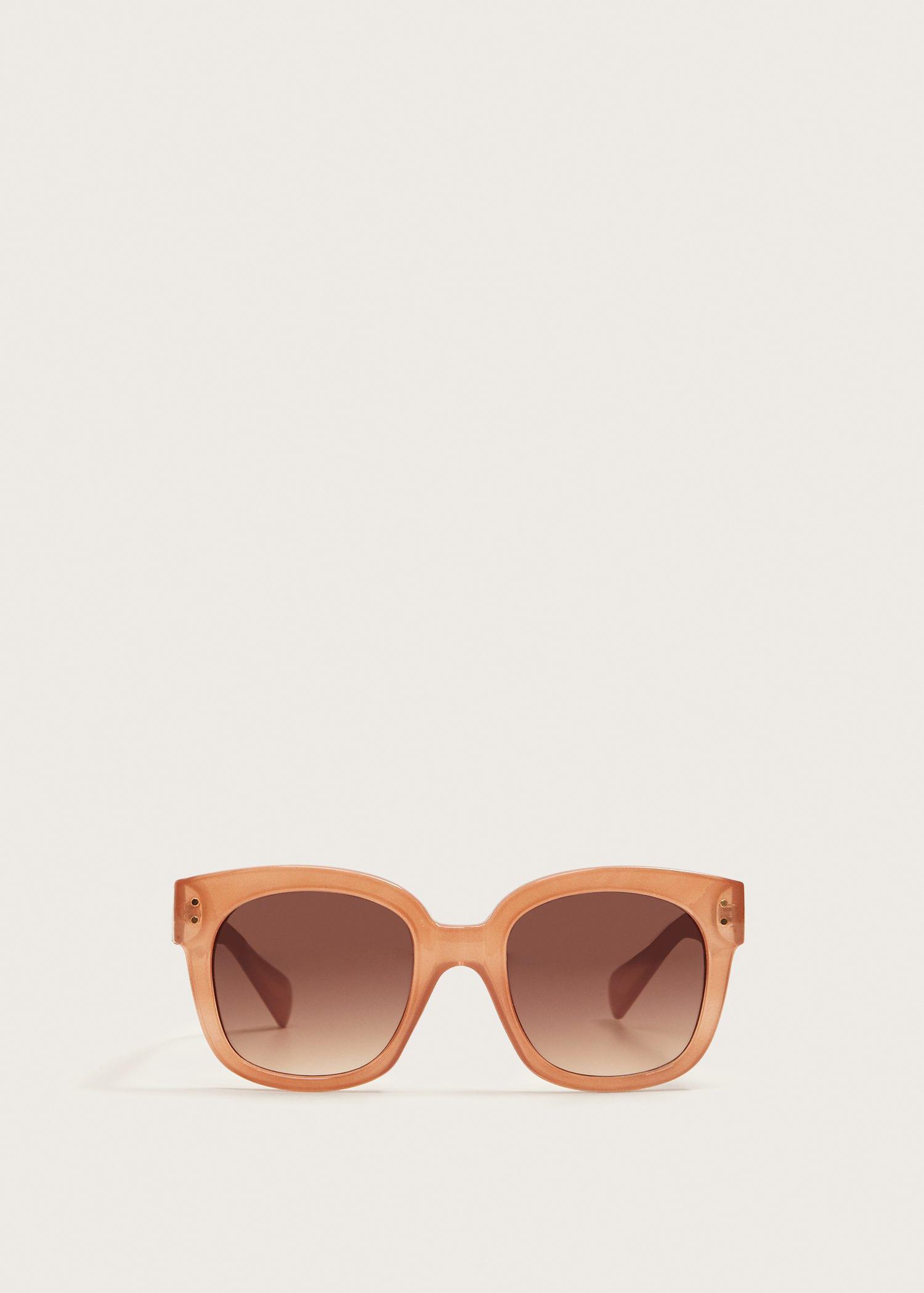 Lyst - Violeta By Mango Acetate Frame Sunglasses in Pink