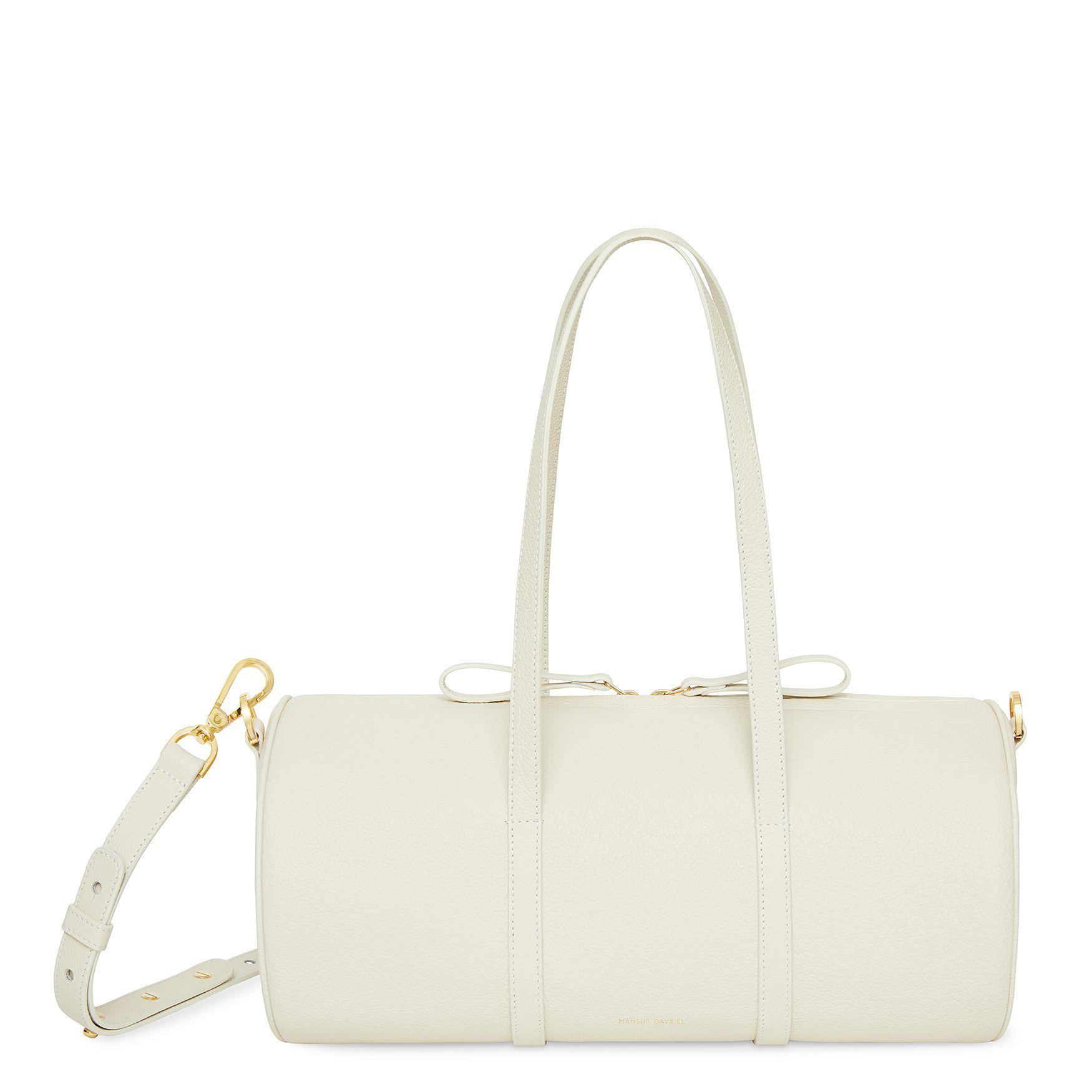 Lyst - Mansur Gavriel Pebble Mini Duffle Bag - Creme c59e264c65ce4