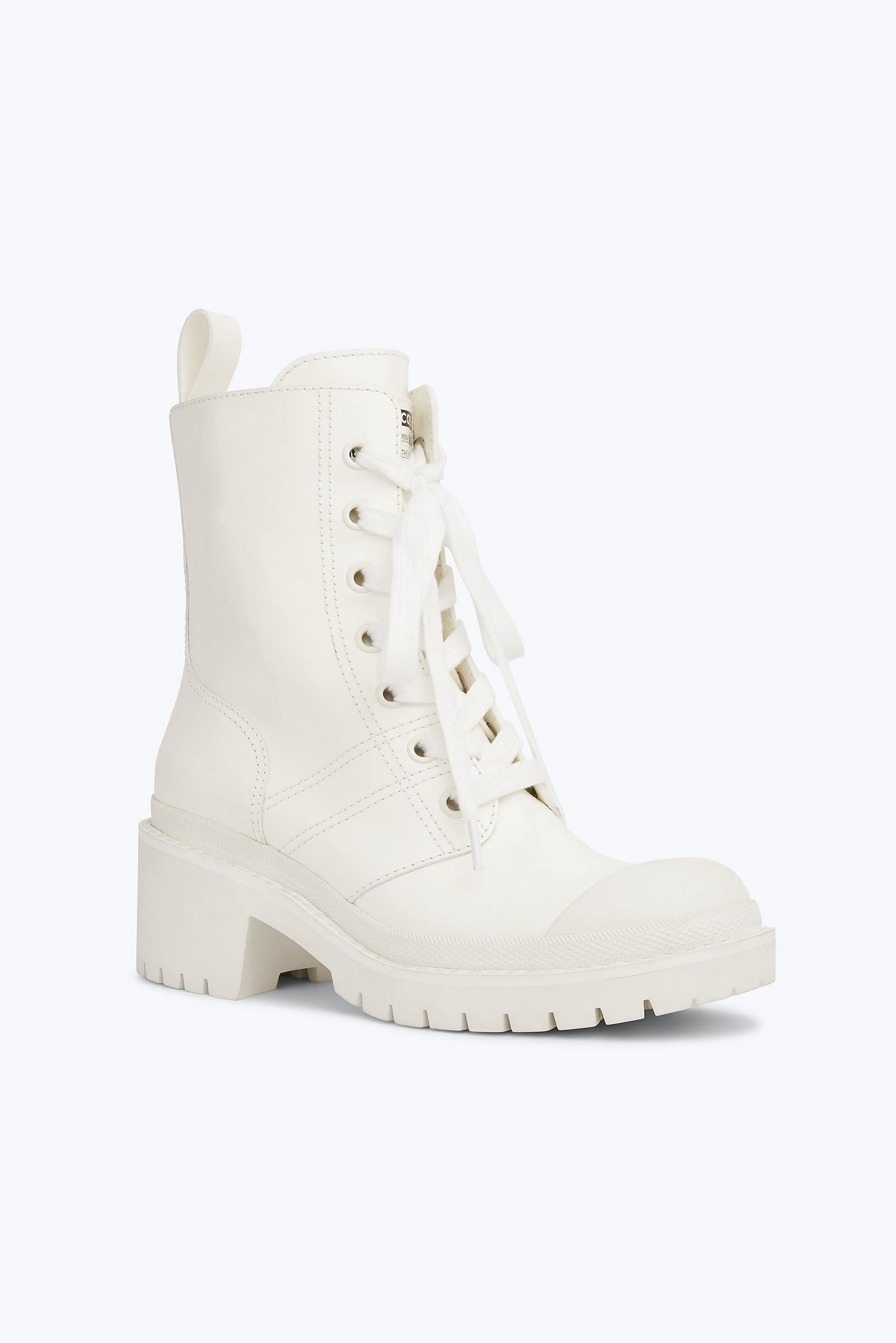 53e91542e30 Lyst - Marc Jacobs Bristol Lace Up Boot in White - Save 62%