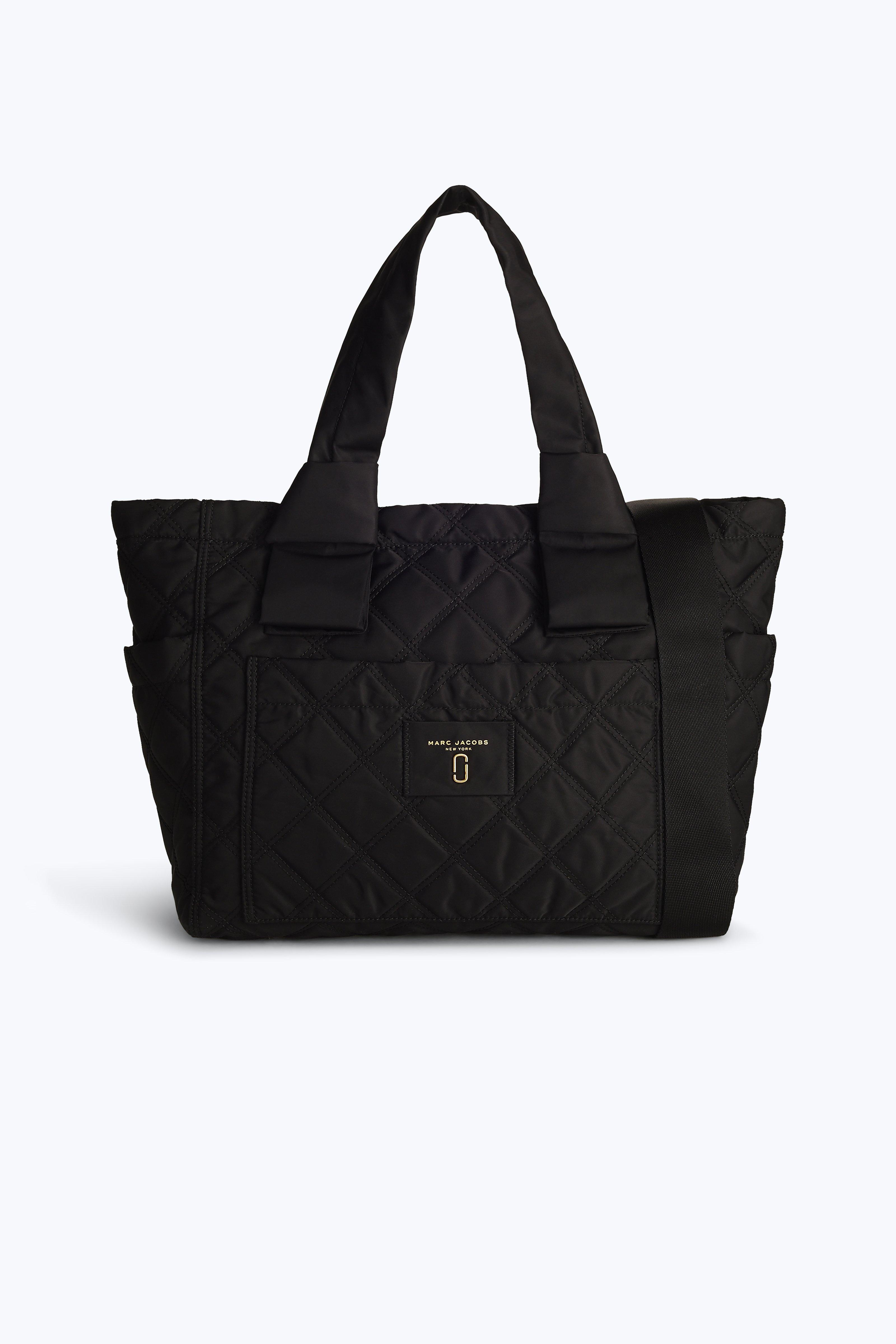 b6f6b9e2e8b5 Lyst - Marc Jacobs Nylon Knot Baby Bag in Black