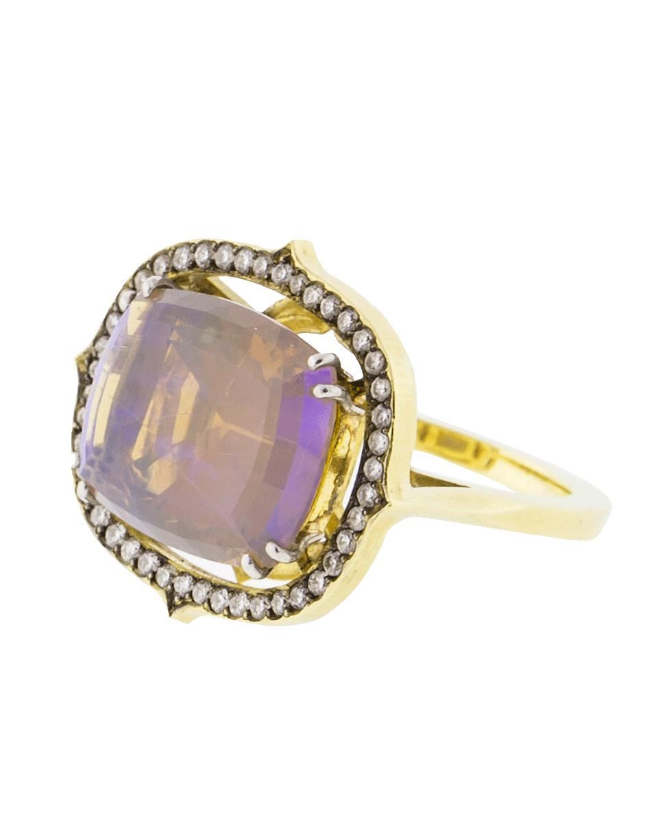 e88c494f9b3 Sylva   Cie Ethiopian Jelly Opal Ring in Metallic - Lyst