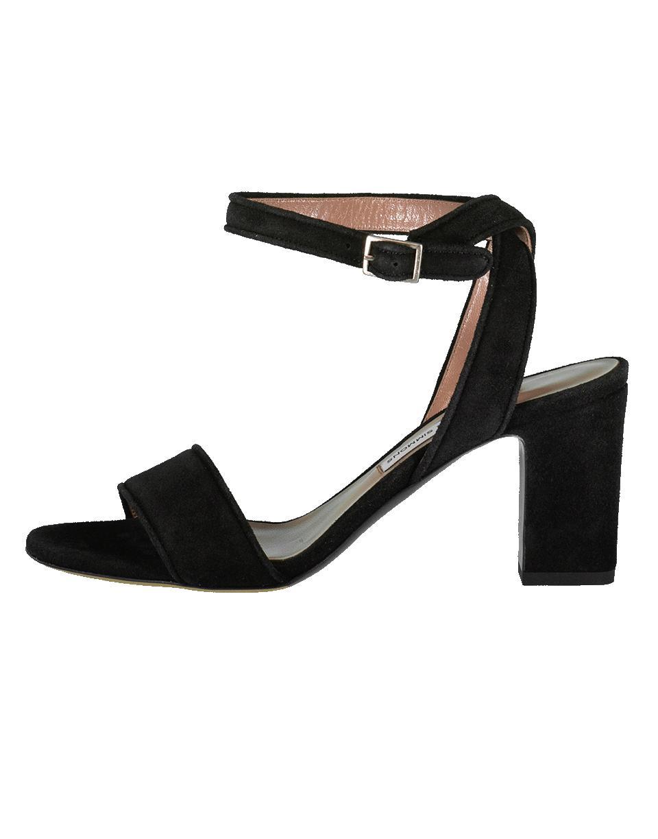 42fa44745f9 Lyst - Tabitha Simmons Leticia Suede Sandal in Black