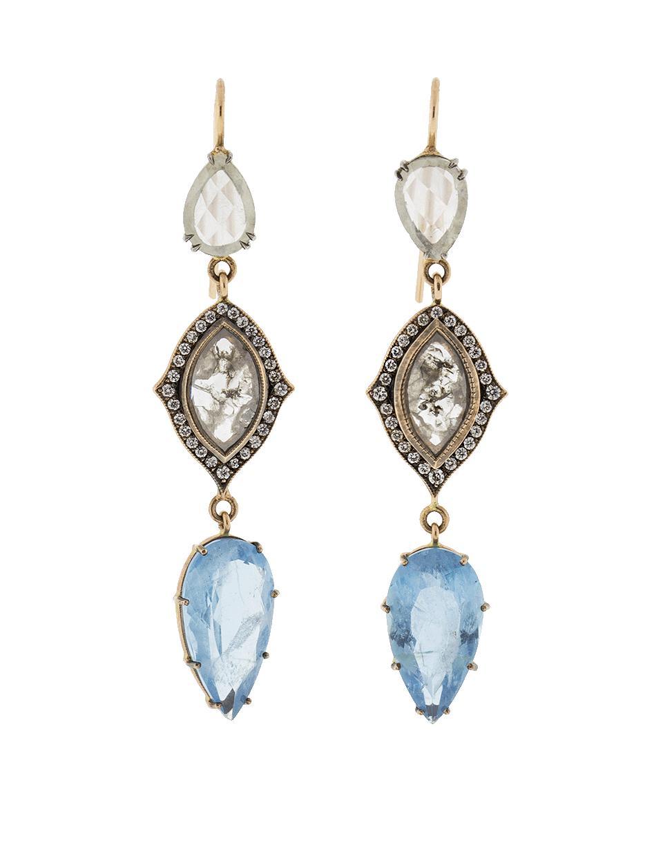 14k Rose Cocholong Or Et Boucles D'oreilles En Diamant Sylva & Cie. xtNbe9bU2d