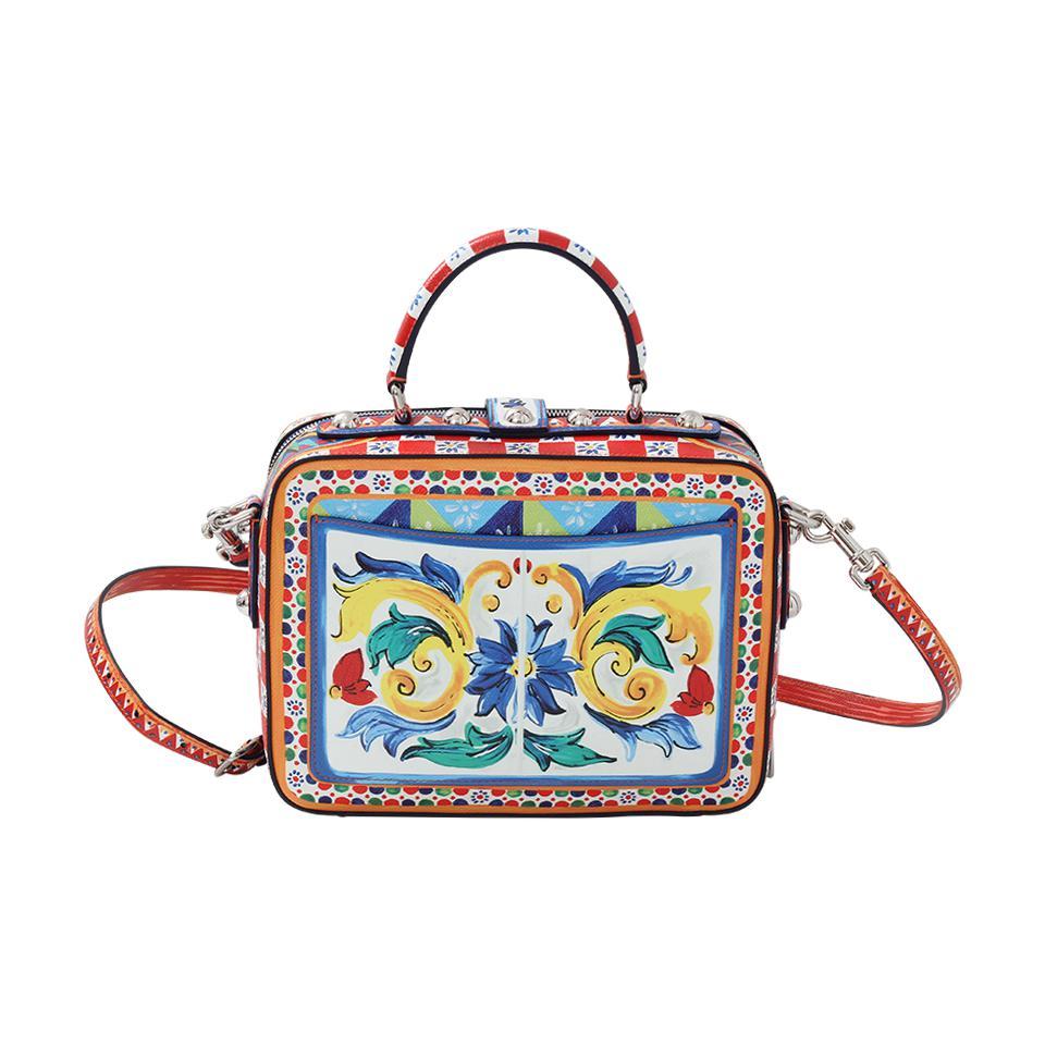 Dolce   Gabbana - Blue Diamond Maiolica Bag - Lyst. View fullscreen 9266dd21e6ea9