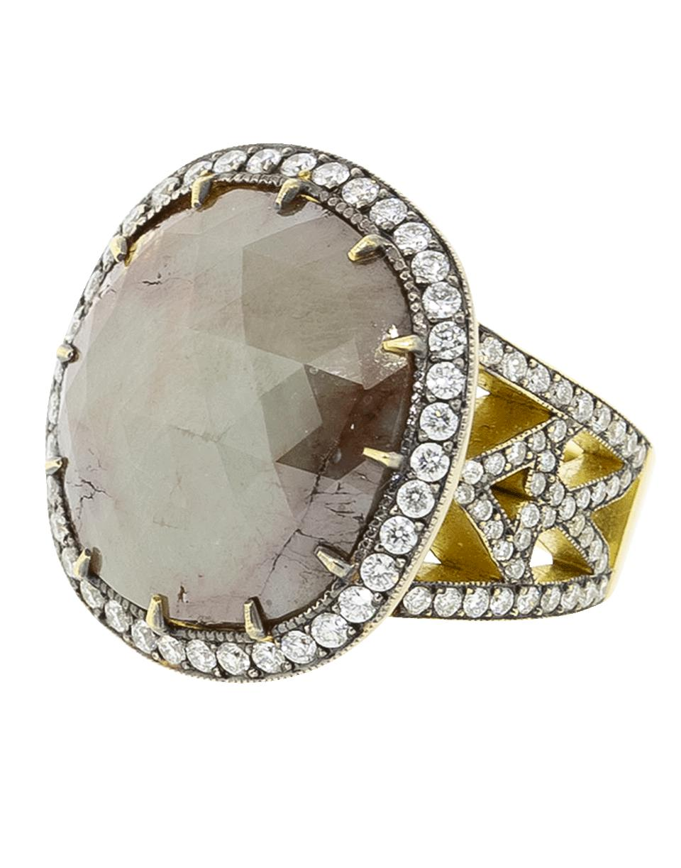 dd0be3450d8 Sylva   Cie Rough Diamond Ring - Lyst