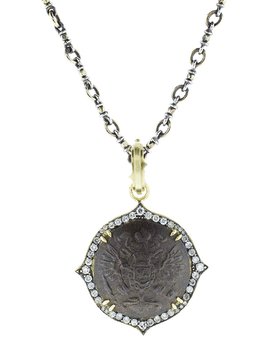 Sylva & Cie. Fly Pendant with Chain 8efoDqny
