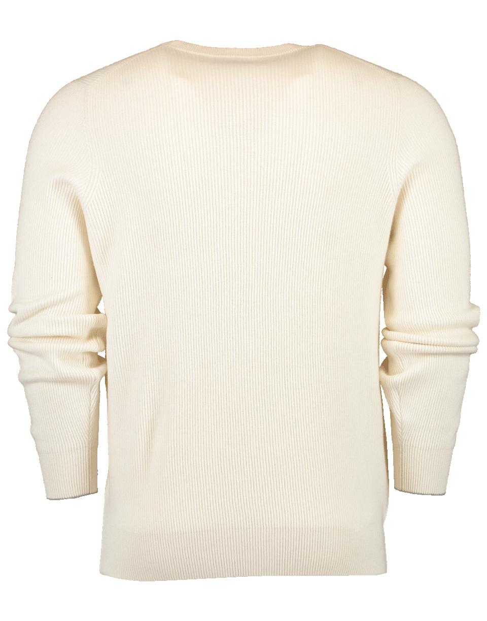 d6f26cb263 Lyst - Brunello Cucinelli English Ribbed Cashmere Sweater in Natural