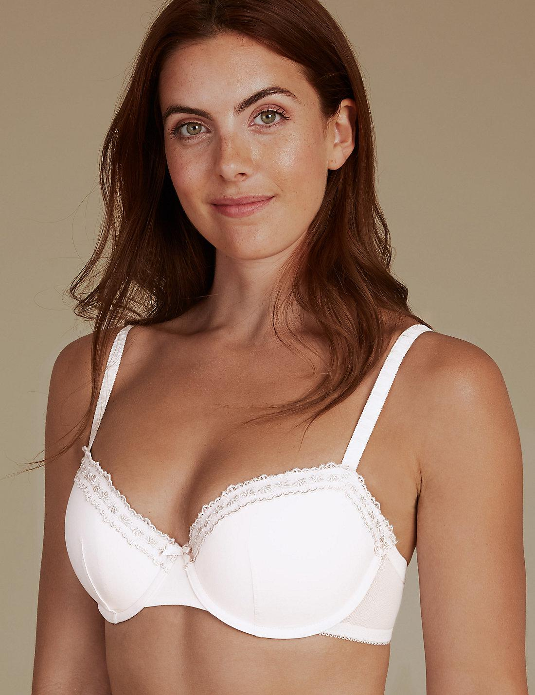 76a032c6c0e2a Lyst - Marks   Spencer 2 Pack Padded Push-up Balcony Bras A-e