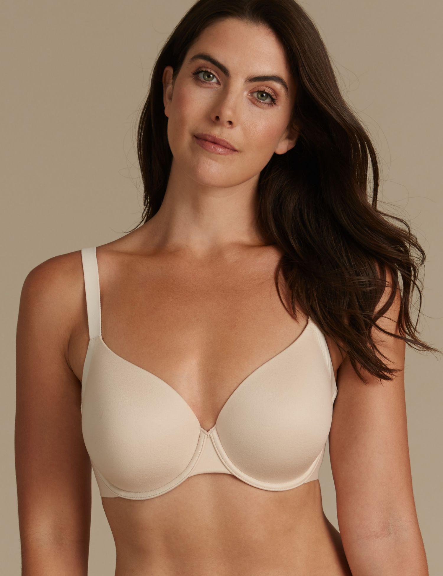e2fd0b9449903 Marks   Spencer Sumptuously Soft Padded Full Cup T-shirt Bra A-dd - Lyst