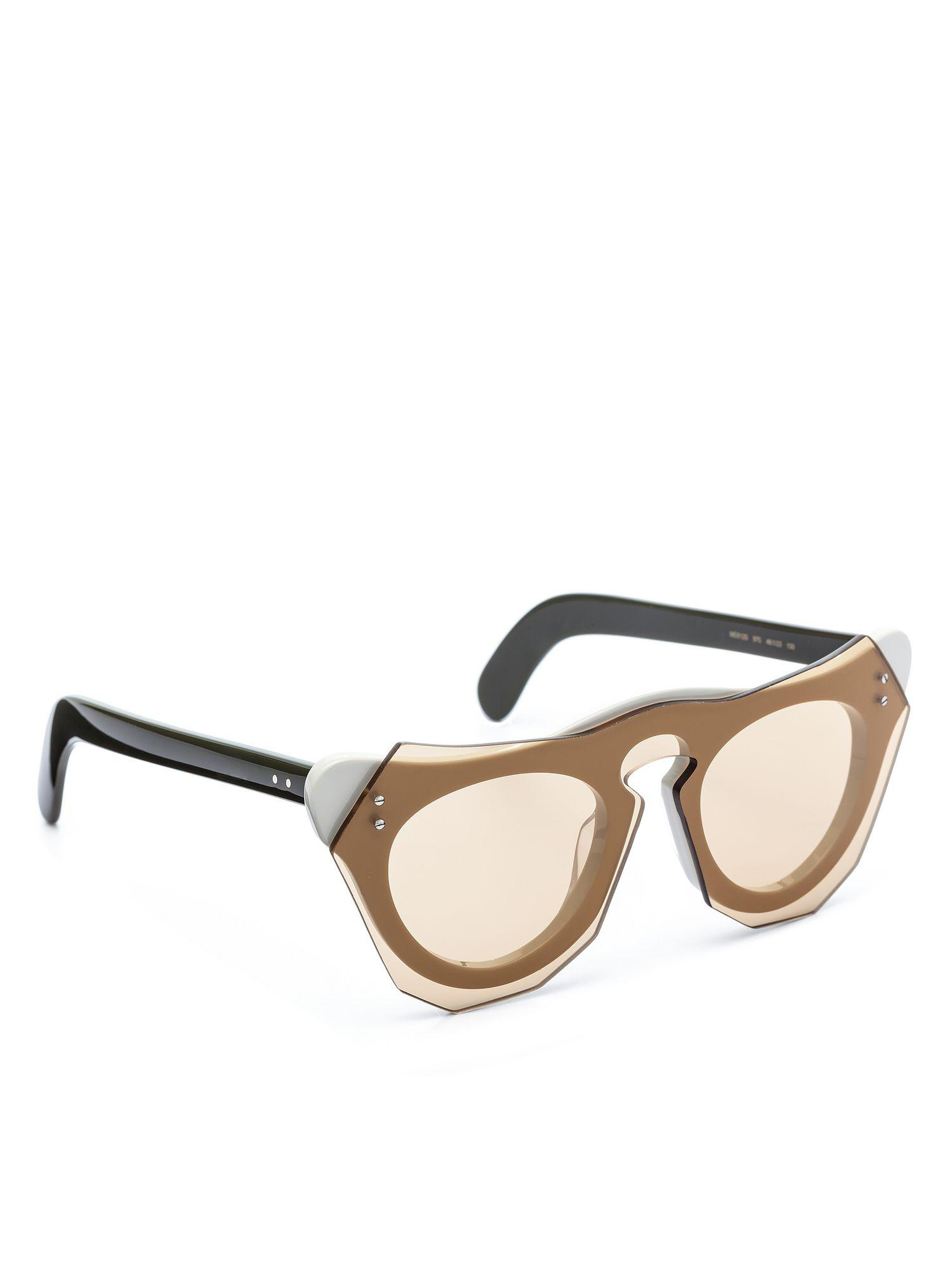 db6352091f Marni - Multicolor Cut Out Acetate Glasses With Screwed In Bar - Lyst. View  fullscreen