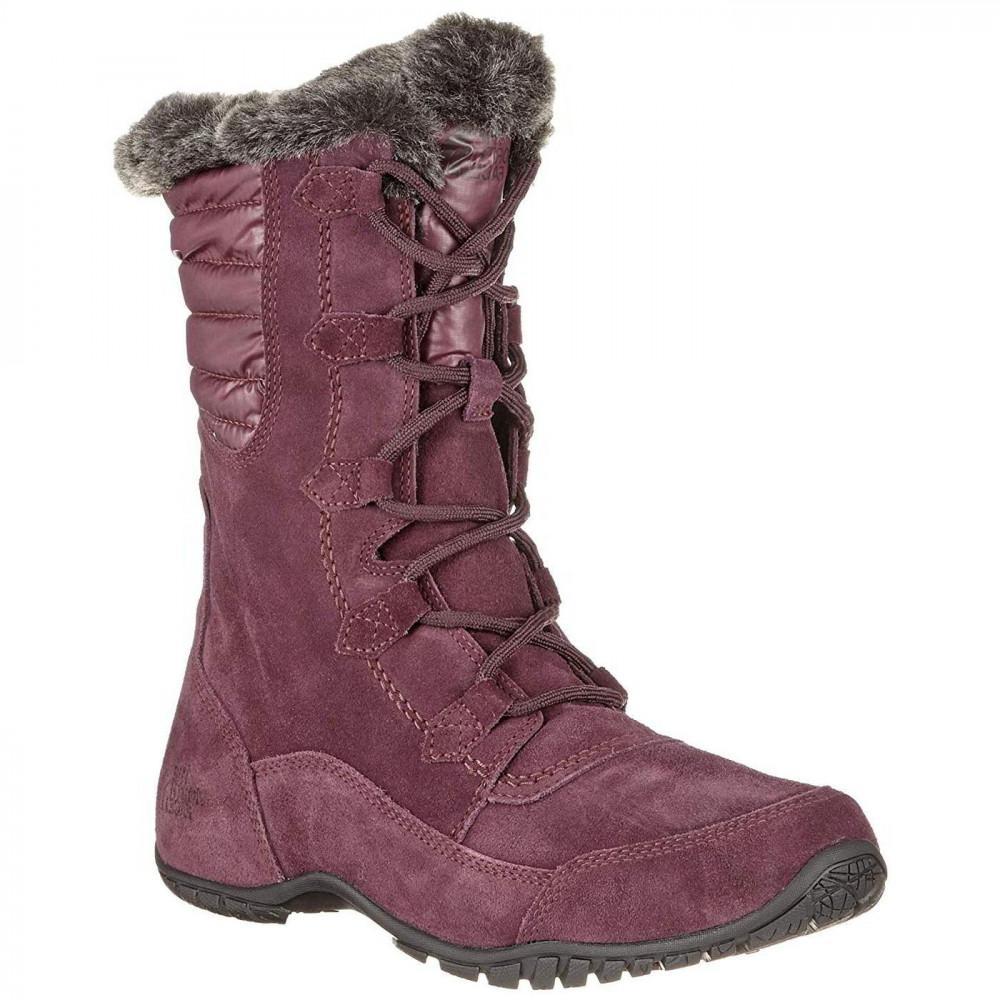 The North Face. Women s Purple North Face Nuptse Purna Ii Waterproof  Walking Snow Boots e456eea06