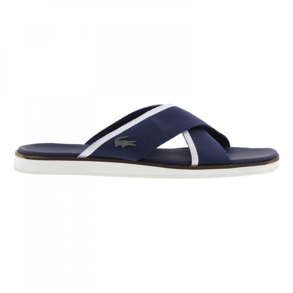 b26e644e8a9 Lacoste Coupri Sandal 117 1 Cam Slide Sandals in Blue for Men - Lyst