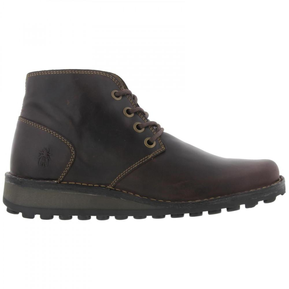 3d034796ac384 Fly London Muni Brown Leather Desert Chukka Boots in Brown for Men ...