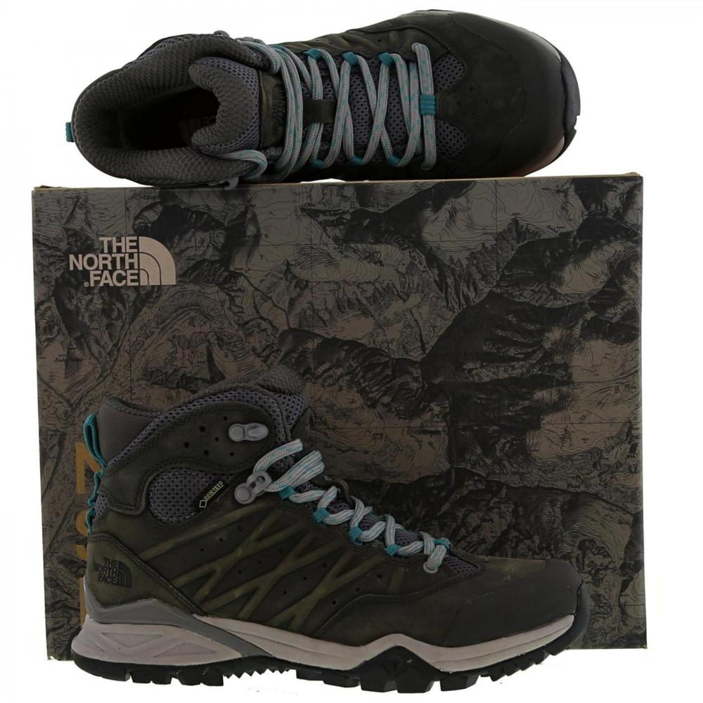 85c74a9101 The North Face - Gray Tnf Hedgehog Hike Ii Mid Gtx Walking Boots - Lyst.  View fullscreen
