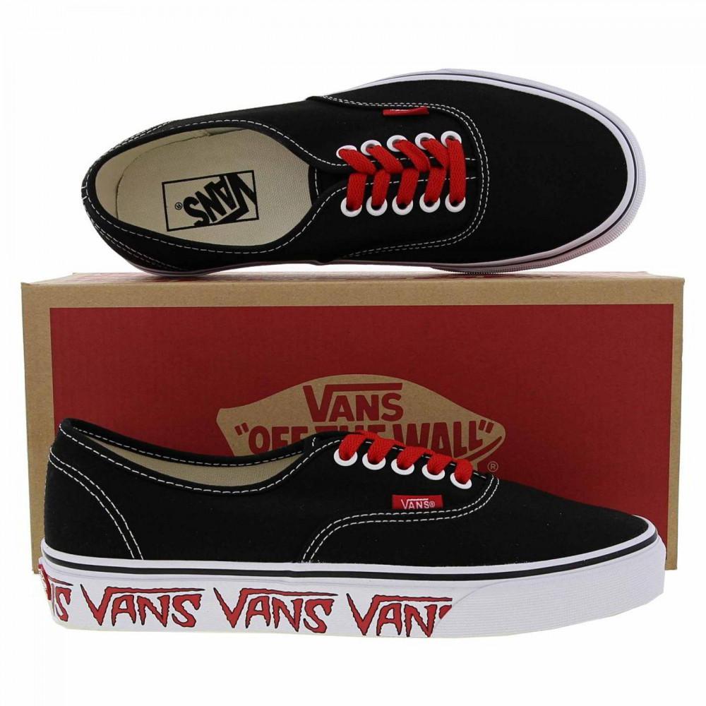 e1f28a2bd5006d Vans - Black Classic Authentic Sketch Skate Shoes Trainers for Men - Lyst.  View fullscreen