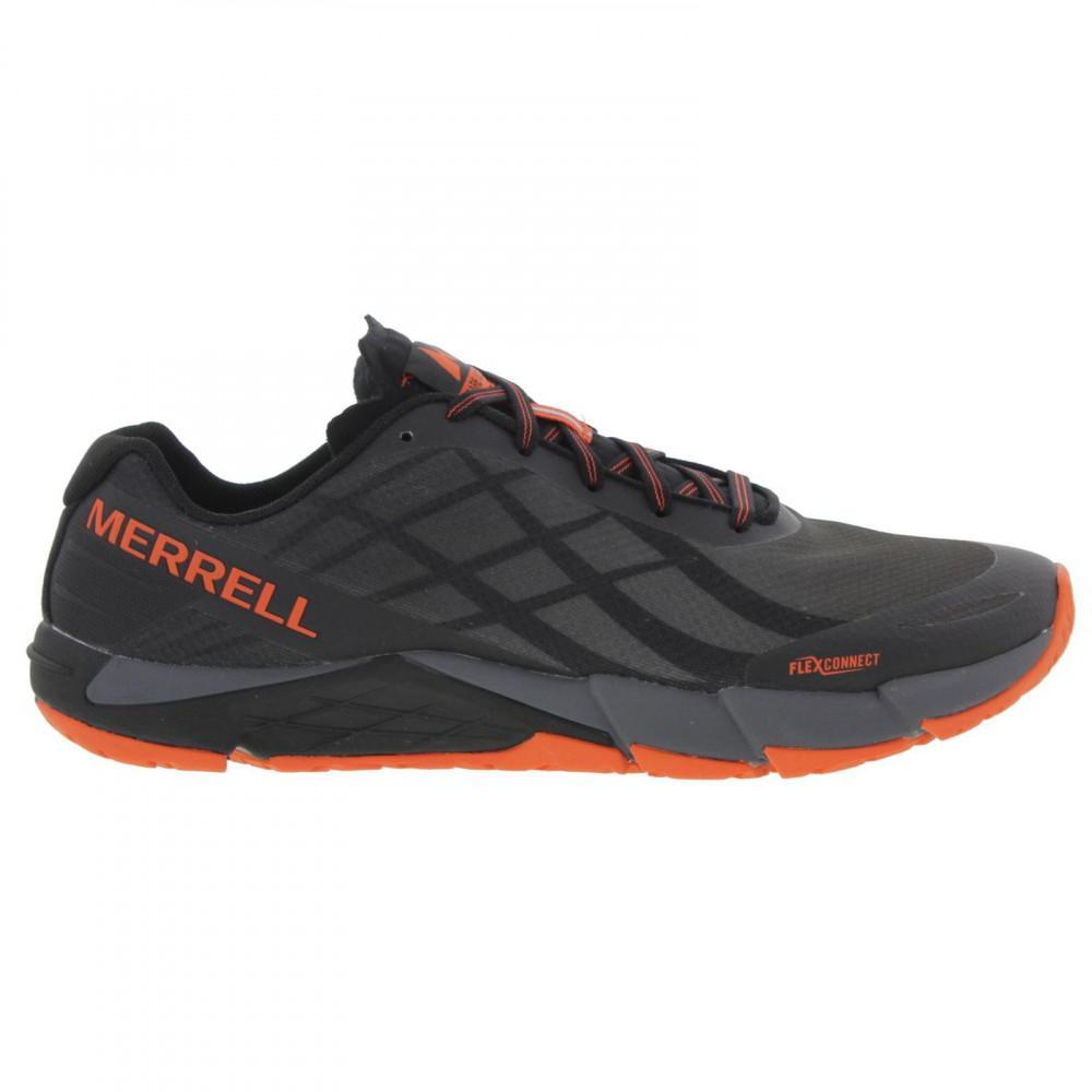80902fe70dfef Merrell - Black Bare Access Flex Barefoot Vegan Running Walking Shoes for  Men - Lyst. View fullscreen