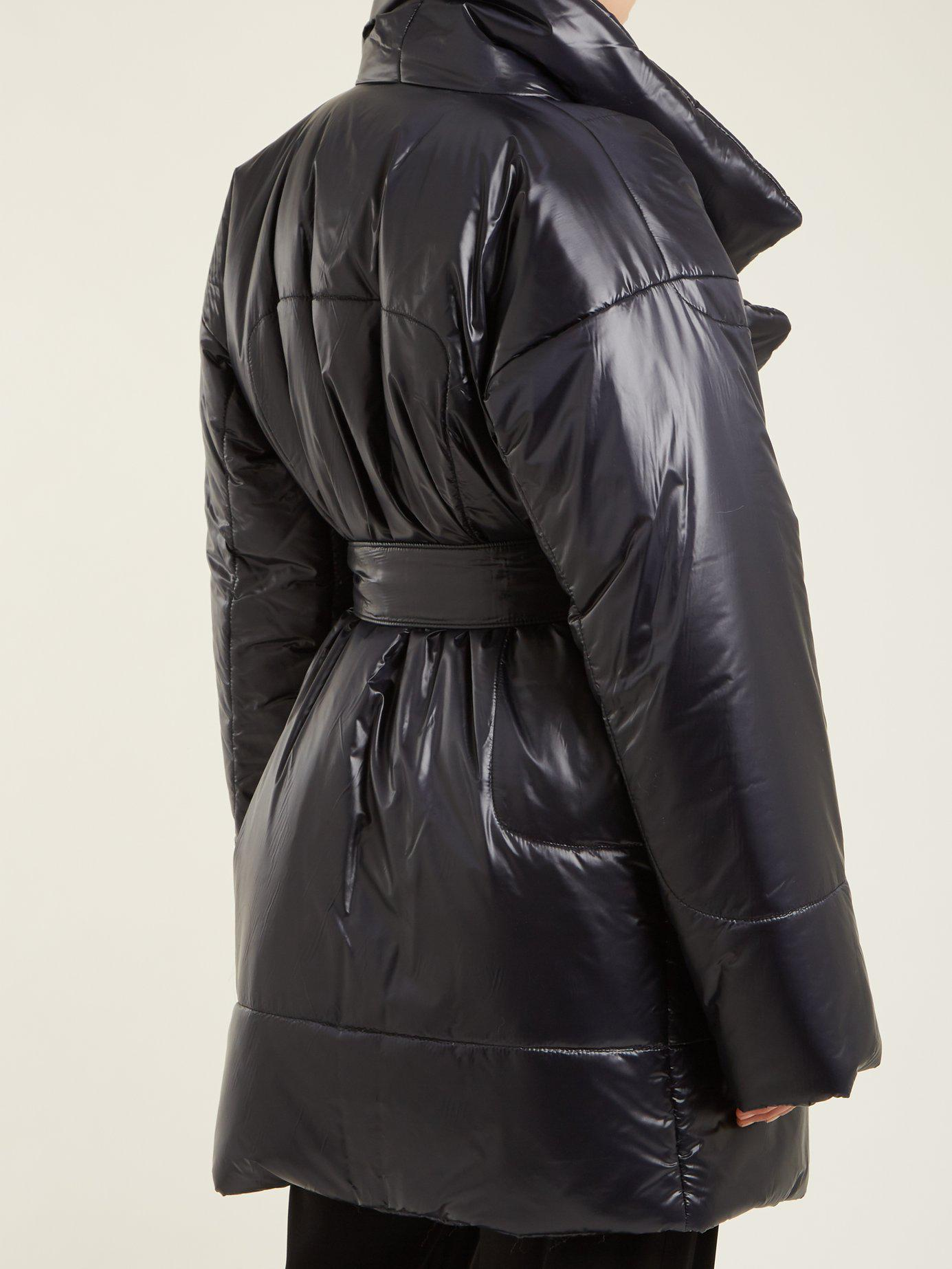 Manteau mi-long à imprimé camouflage Sleeping BagNorma Kamali Gros Rabais Bhm4ABWG2W