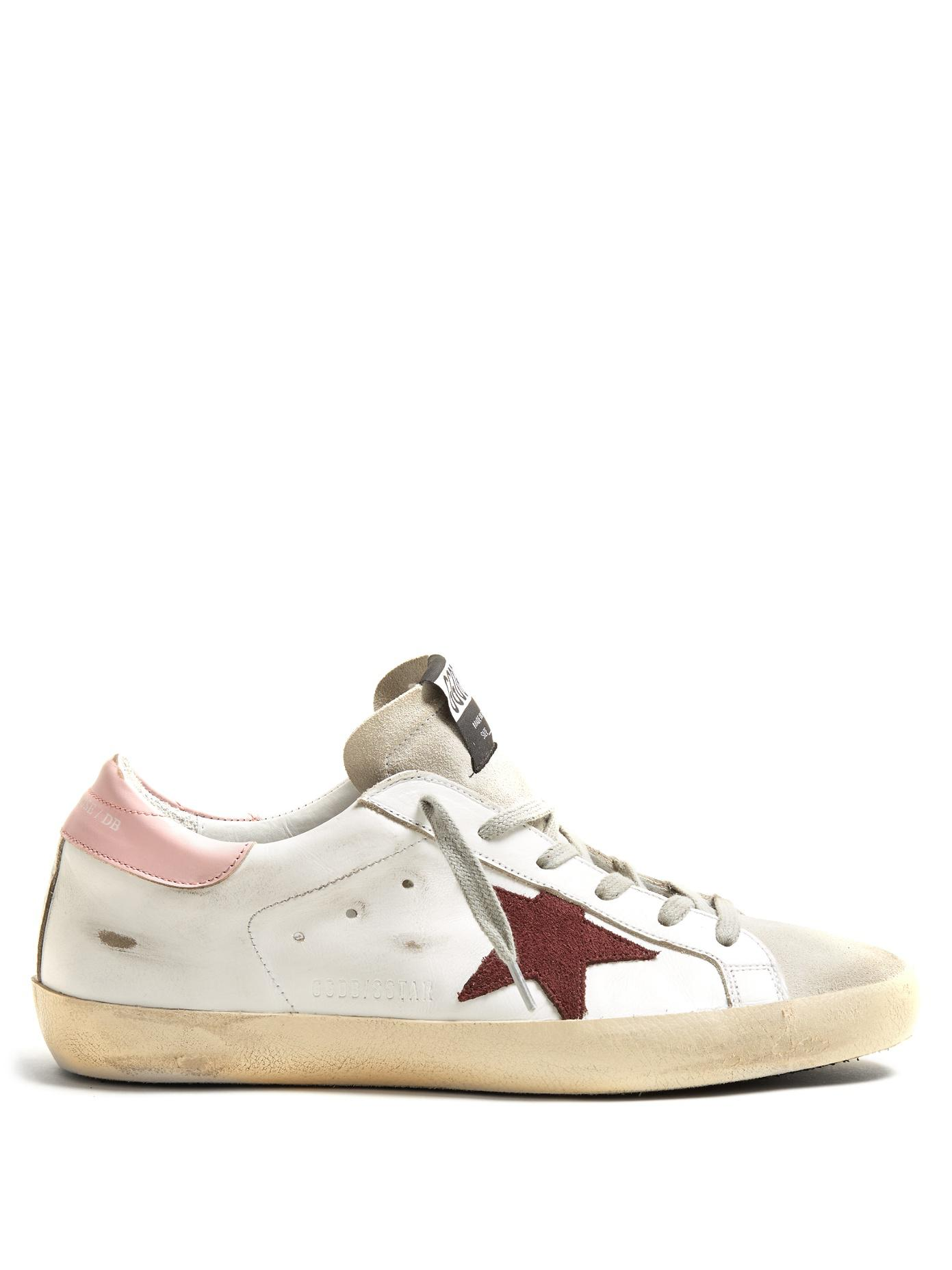 Cheap Comfortable How Much Online Golden Goose Burgundy Superstar Low Sneakers Sale Choice Wiki Sale Online BXiMi