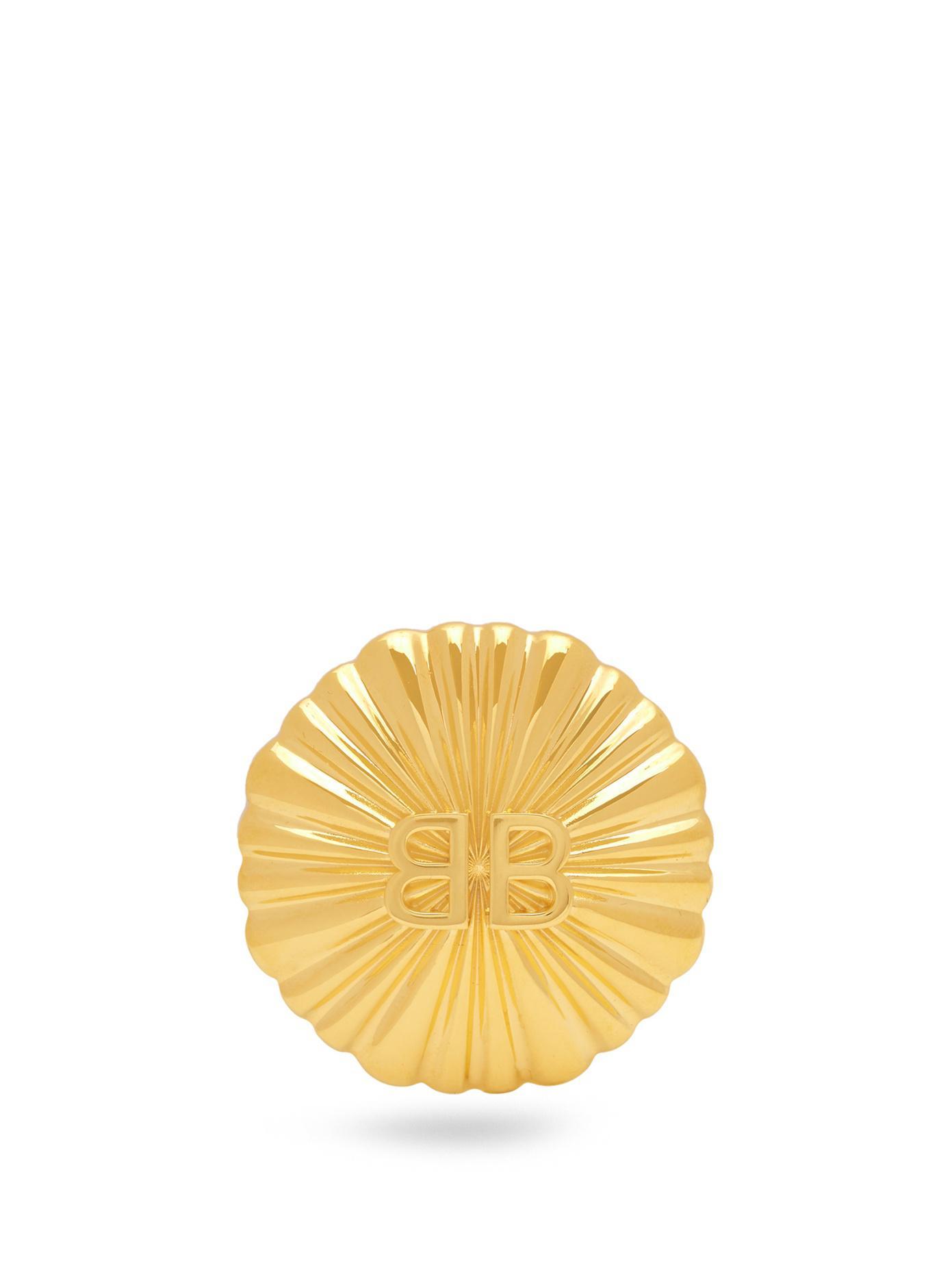 Balenciaga Round Licence single earring 2B7QT