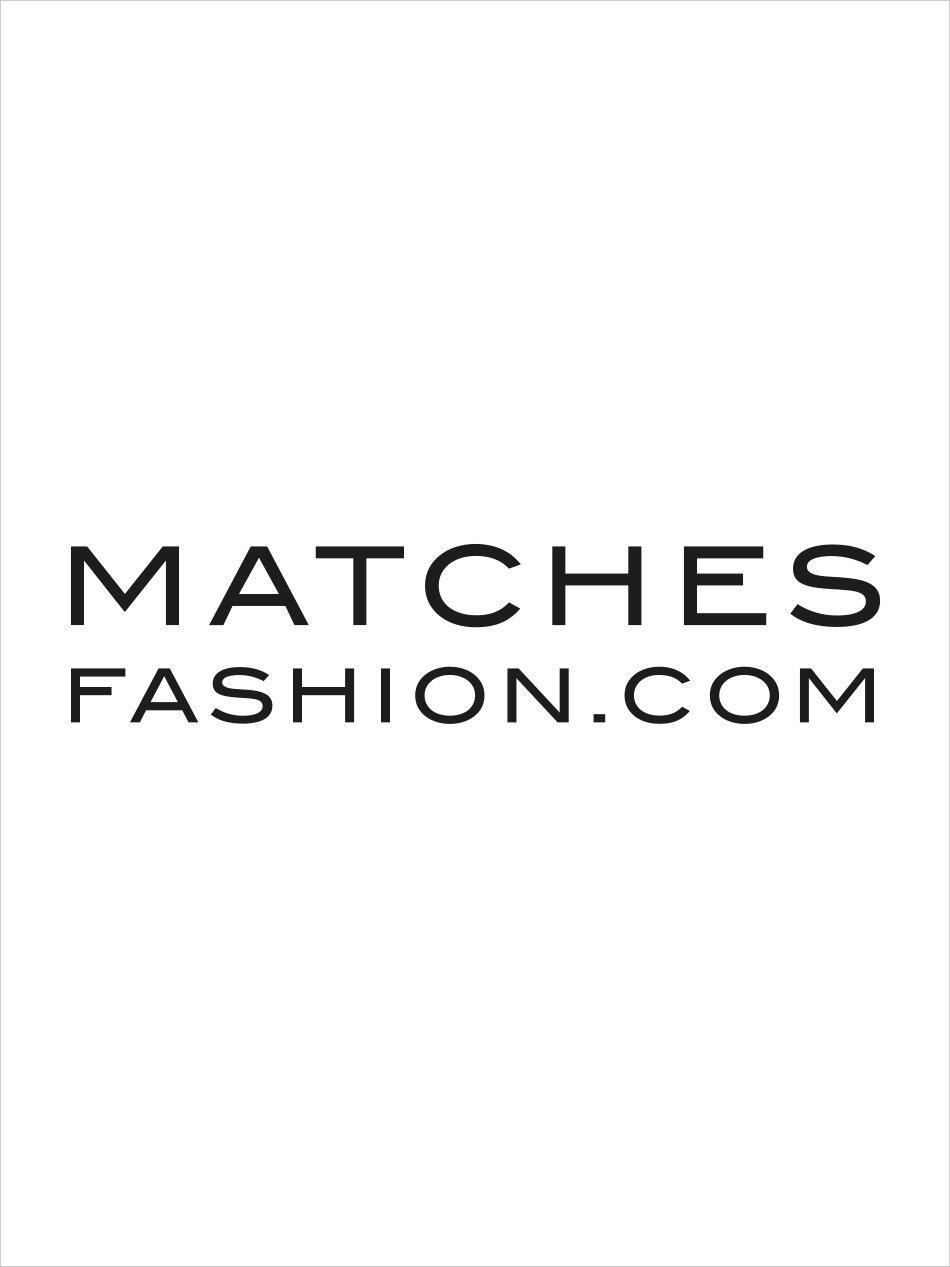 Prada Saffiano-leather logo letter-appliqué key ring mskO57
